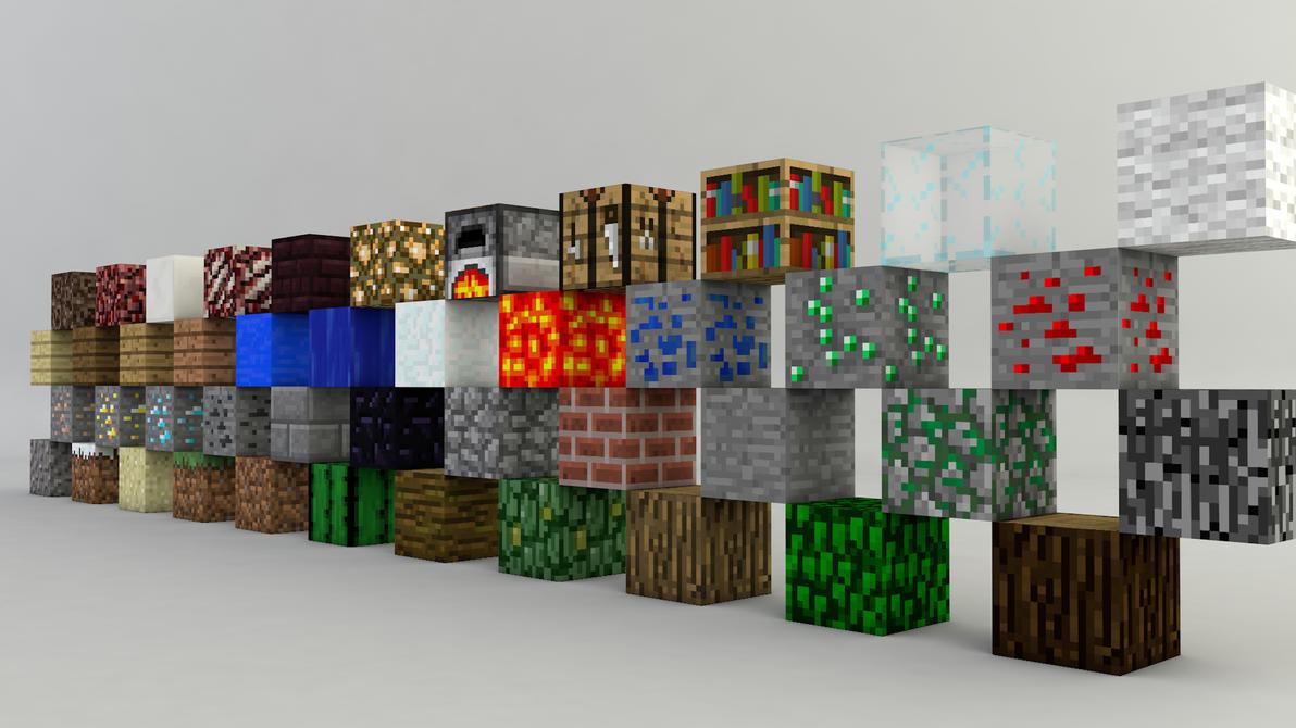 MinecraftBlocks by footthumb
