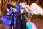 Amaterasu and Tsukihime's Evening Ballroom Dance by Axel-Doi