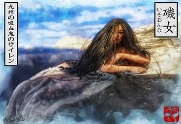 Iso Onna: The Vampiric Siren of The Nine Provinces by Axel-Doi