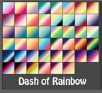 Dash of Rainbow Gradients