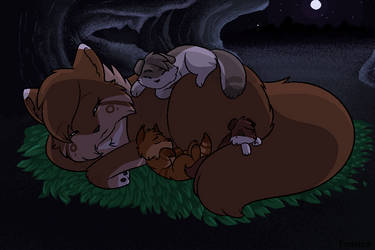 Peaceful Nights by Forteycat