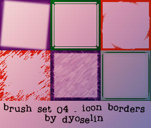Brush Set 4 by dyoselin
