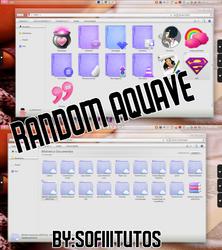 Tema IconPackager Random aquave -SofiiiiTutos- by SofiiiTutos