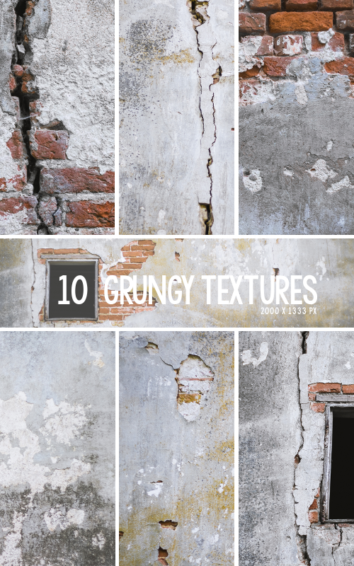 Grungy Texture Pack