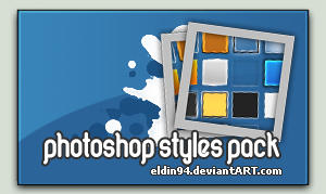 Photoshop styles pack by eLdIn94