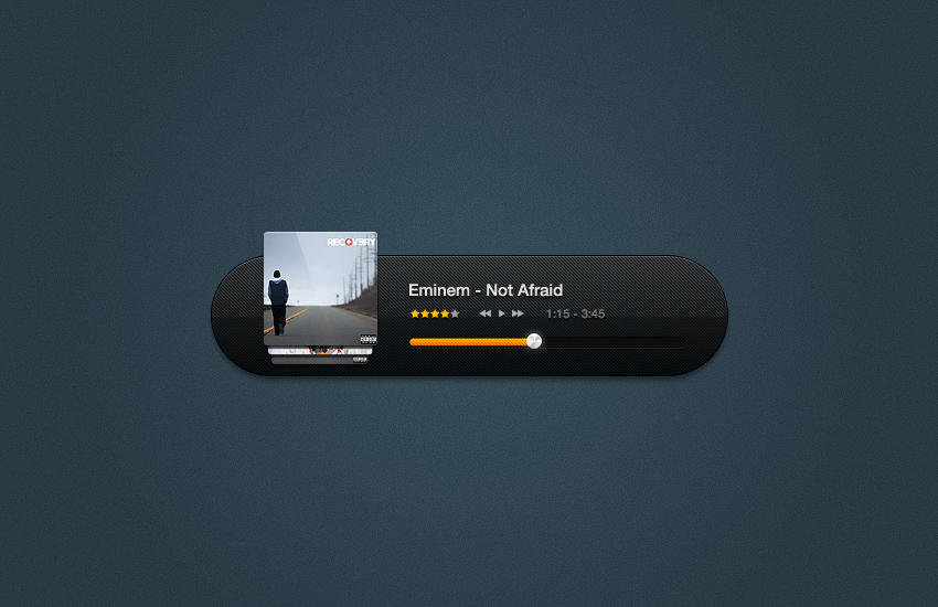 Music player freebie by eLdIn94