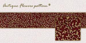 Flower Pattern - Red