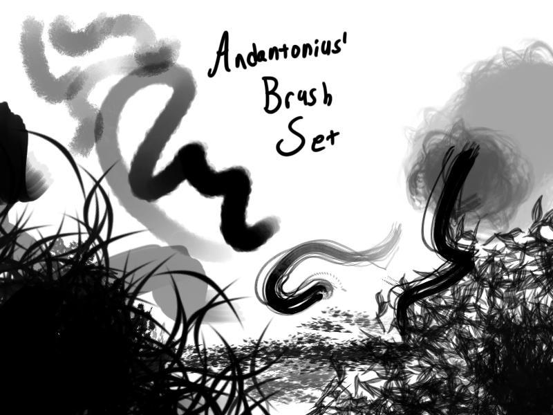 Andantonius' Brush Set by Andantonius