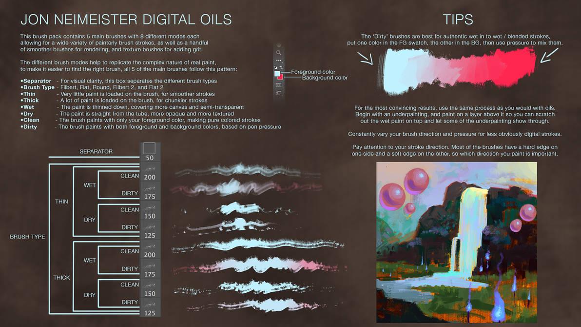 Digital Oil Brushes - Free Download by Andantonius on DeviantArt