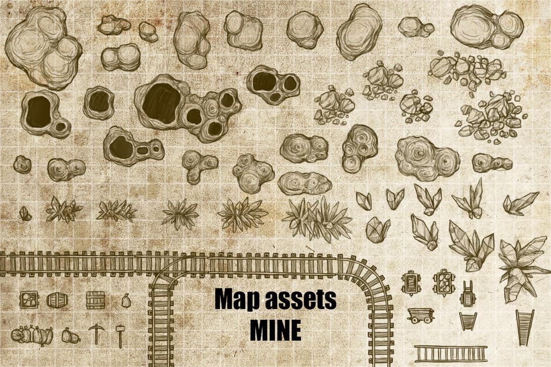 Map Asset: MINE by gogots