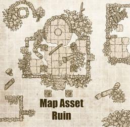 Map Asset- Ruin
