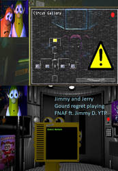 Jimmy and Jerry Gourd regret playing FNAF ft. Jimm by GuessWhoLovesAdopts