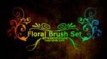 Floral Brush Set