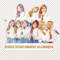 [PNGPACK] Tiffany#2 render- Girl's Generation by JulieMin