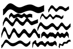 Wave brushes