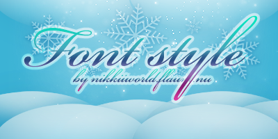 Font Style by cherryproductionsorg