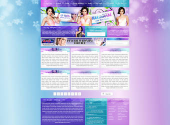 Demi Lovato PSD Design by cherryproductionsorg