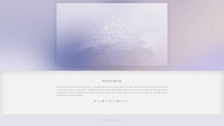 Simple Blog Design PSD