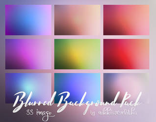 Blurred background pack by cherryproductionsorg