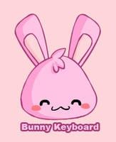 Flash- Bunny Keyboard by snowbunnyluv