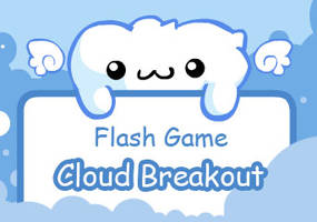Flash Game- Cloud breakout by snowbunnyluv