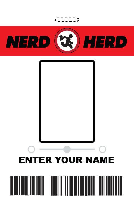 MYO Nerd Herd ID Badge - Chuck by RandomestFactor