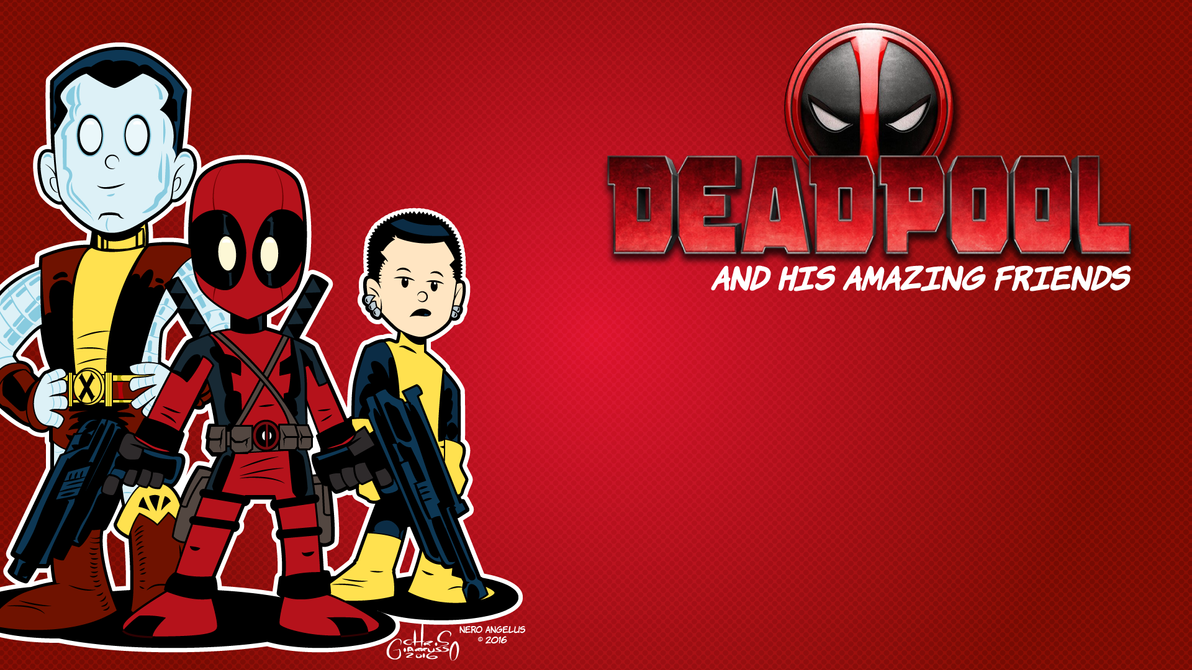 Deadpool Wallpaper By Neroangelus On Deviantart