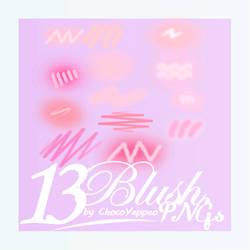 [PNG PACK] Cheek Blush Pink PNG