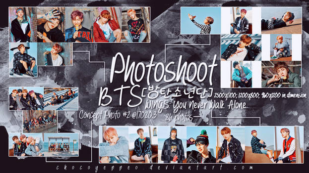26 Photoshoot BTS WINGS You Never Walk Alone #2