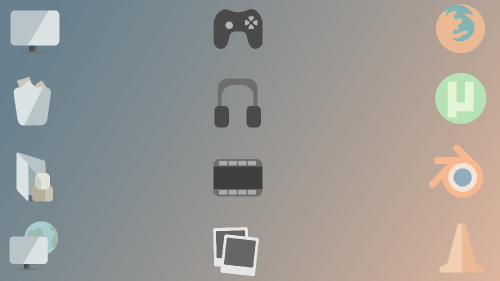 Malismus flat Icon Pack