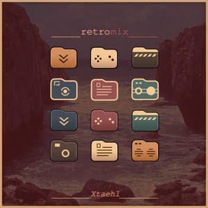 RetroMix Folder Icons
