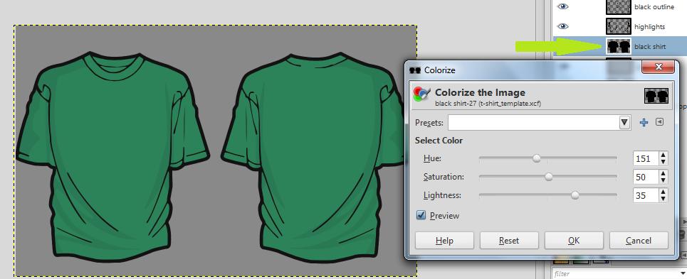 Gimp T Shirt Design