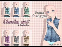 Sleeveless shirt by Angelica-Lime