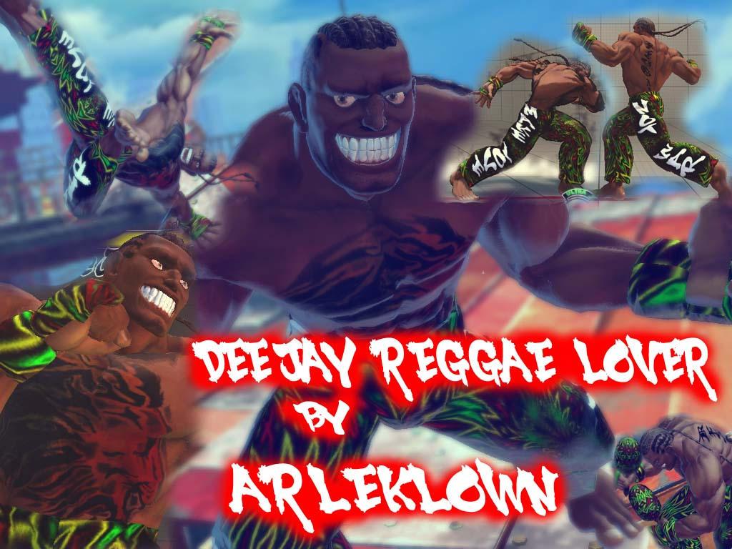 SSF4:AE MOD DEE JAY REGGAE LOVER by arleklown
