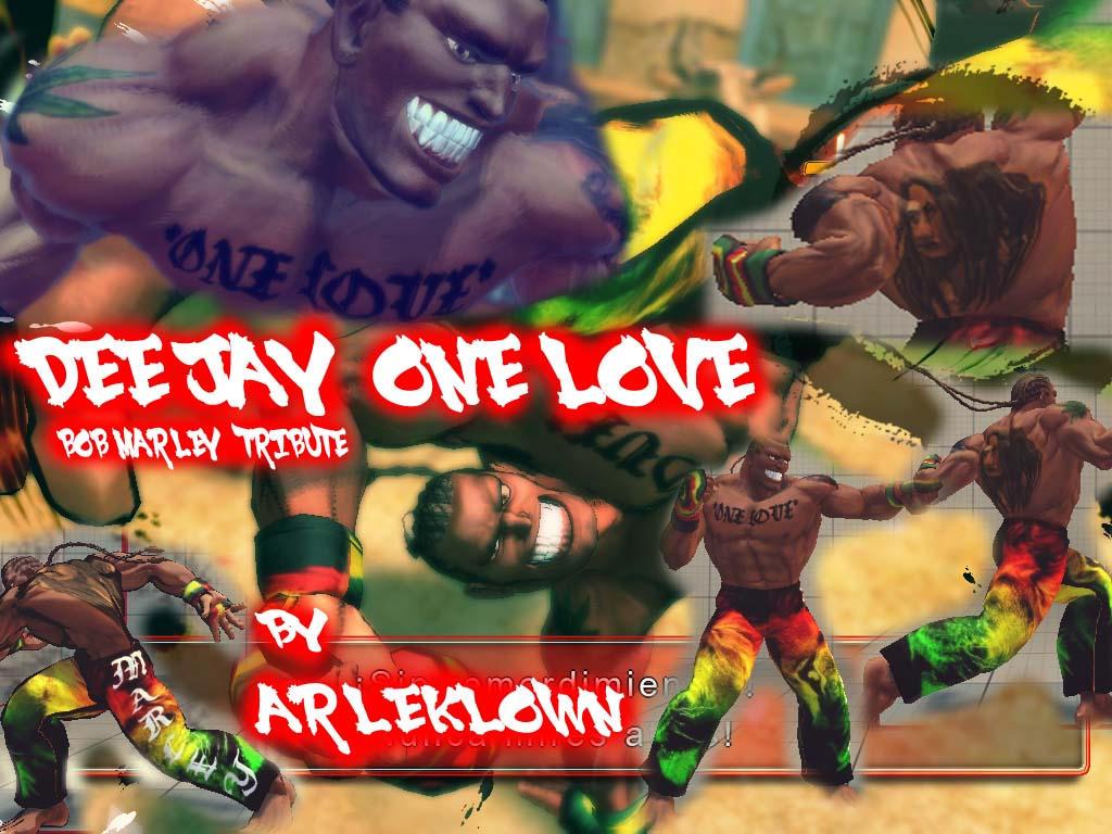 SSF4:AE MOD DEE JAY ONE LOVE *marley tribute* by arleklown