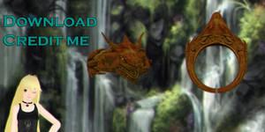 mmd: Dragon ring dl