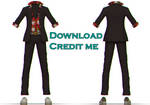 MMD: male outfit dl