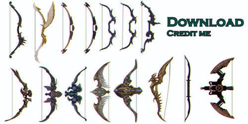 MMD: Bows dl