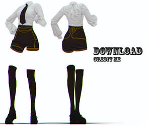 Mmd Female Clothes Favourites By Xoriu On Deviantart