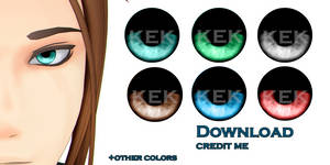 MMD: Eye Textures dl