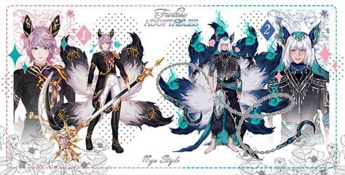 [OPEN 2/2] Fantasy Adopt XXIV by NyaStyle