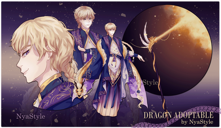 [OPEN] Dragon Adoptable I by NyaStyle