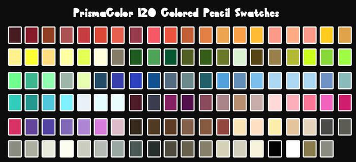 PrismaColor Color Swatches