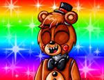 Toy Freddy says Hey
