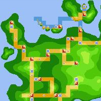 Custom Pokemon Regions - extended from Kanto/Johto