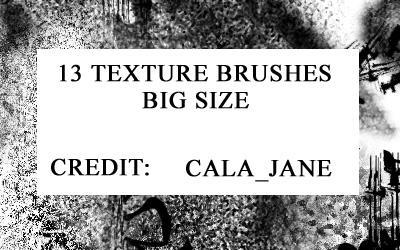 13 big size brushes