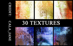 30 Abstract Textures by calajane