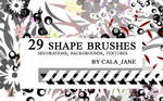 29 shape brushes