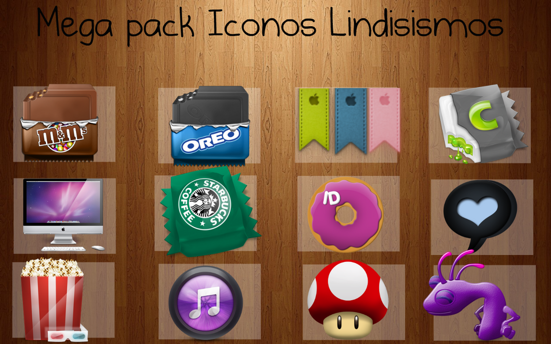 Mega Pack iconos by JhoannaEditions