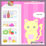 Kittys Kitchen Dressup Playset by steffne